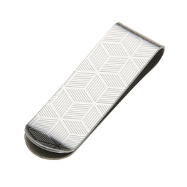 Stainless Steel Money Clip - Luxury Design