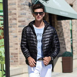 White Duck Down Men's Jacket