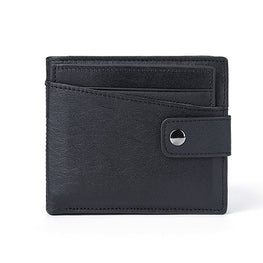 MVA Men Wallets Male Purse Genuine Leather Wallets Mini Short Card Holder Wallet Clutch Zipper Mens Coin Purse Leather Wallet