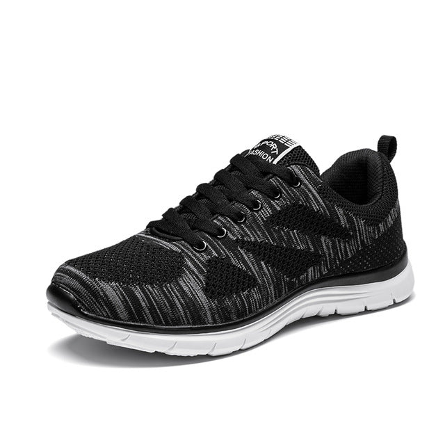 MILANAO New Sports Flyknit Racer Running Shoes For Men & Women . Breathable Men's Athletic Sneakers Krasovki zapatillas