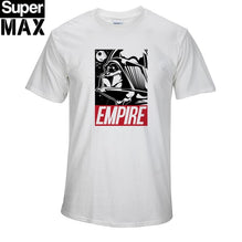 100% cotton short sleeve star wars print men's t-shirt