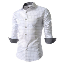 BOLUBAO New Arrival Casual Shirt New Spring Plaid Men Shirt Fashion Long Sleeve Dress Shirt Male Slim Fit Men Shirt Size M-4XL