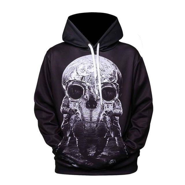 3d Printing Sweatshirts Hooded Men/Women Hoodies With Hat Galaxy Space Star Autumn Winter Loose Thin Hoody Tops Hot Sale 3XL