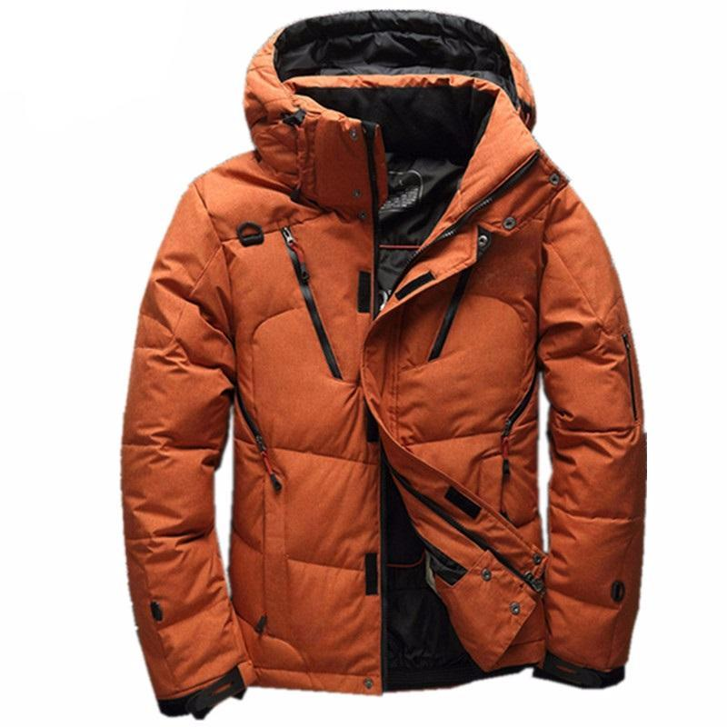 High Quality 90% White Duck Thick Down Jacket men coat Snow parkas male Warm Brand Clothing  winter Down Jacket Outerwear