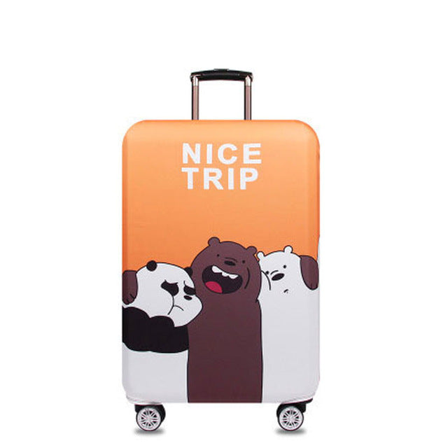 OKOKC Cat Elastic Thicken Travel Suitcase Protective Luggage Cover Apply to 18''-32''  Case Suitcase,Travel Accessories