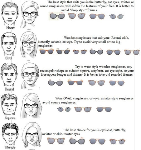 How To Choose The Best Sunglasses For Your Face Shape Woody