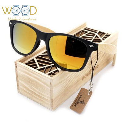 Men Summer Style Vintage Black Square Sunglasses Mirrored Polarized - Passion Hobby Gadgets