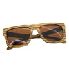 BEDATE Retro Zebra Wood Sunglasses Men Sunglass Women Brand Design Sport Goggles Mirror Shades - Passion Hobby Gadgets