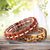 BOBO BIRD Wooden Bracelet Homme Men Women Wooden Bangle Jewelry Gift
