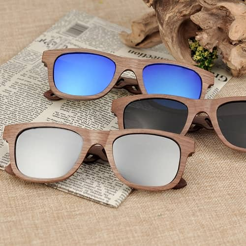 1f799e818c Walnut Wood Sunglasses Brand Designer Mirror - Woody Passion Watches ...