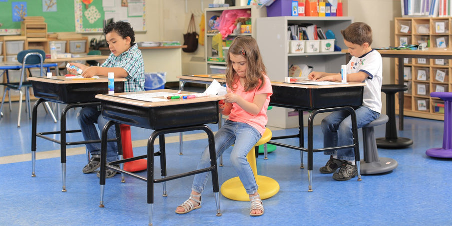 Why Your Learning Space Should Include Kore Designs Wobble Stools