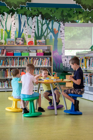 Classroom Active Seating | Wobble Stools