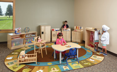 Jonti-Craft Furniture | Early Childhood Furniture | Preschool Furniture | Cubbies | Lockers | Activity Tables | Sensory Tables | STEM Tables | Book Storage | Chairs