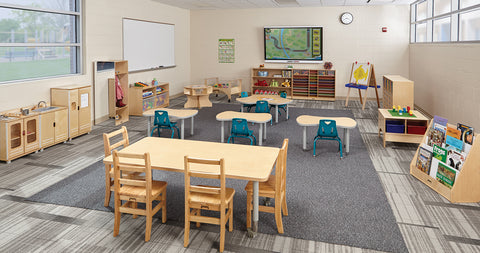 Jonti-Craft | Early Childhood Furniture | Preschool Furniture | Cubbies | Lockers | Activity Tables | Sensory Tables | STEM Tables | Book Storage | Chairs