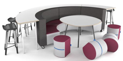 NorvaNivel | CONCLAVE NNCG11 COLLECTION | Flexible Classroom Seating