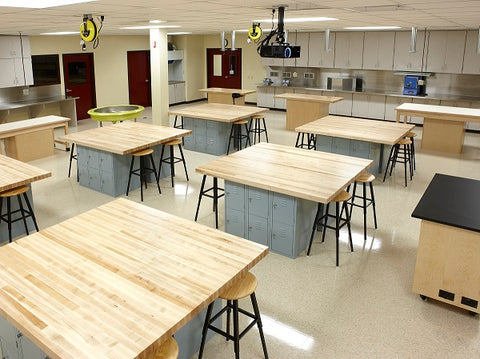 Diversified Woodcrafts | Science Lab Furniture | Science Workstations | Science Tables