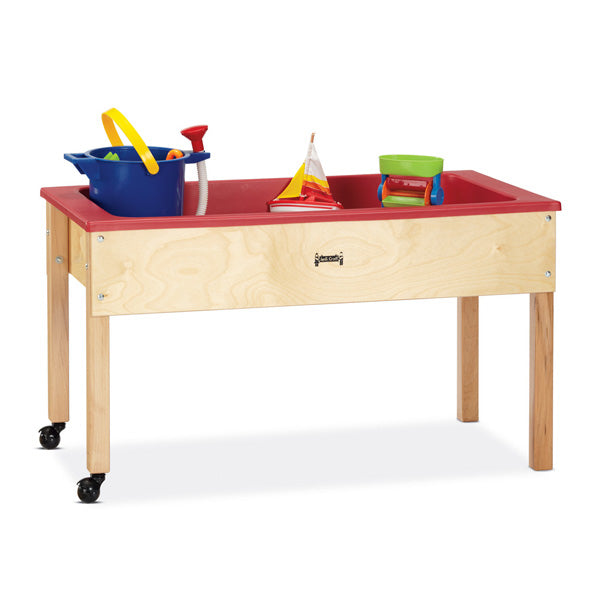 Jonti-Craft 0285JC Mobile Sensory Table with Cover