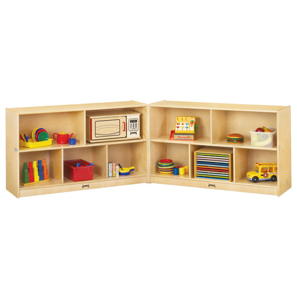 Jonti-Craft 0292JC Low Mobile Fold-n-Lock Storage