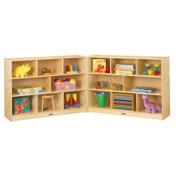 Jonti-Craft 0369JC Super-Sized Mobile Fold-n-Lock Storage