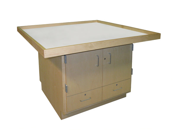 Hann SWRS-3232U Robotics Workstation with Drawers and Doors