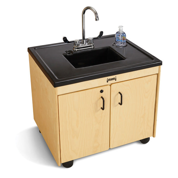 "Jonti-Craft 1370JC Clean Hands Helper Portable Sink - 26"" Counter - Plastic Sink"