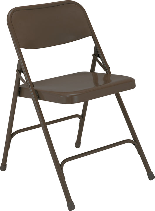 National Public Seating 200 Series Premium Steel Folding Chair - Pack of 4