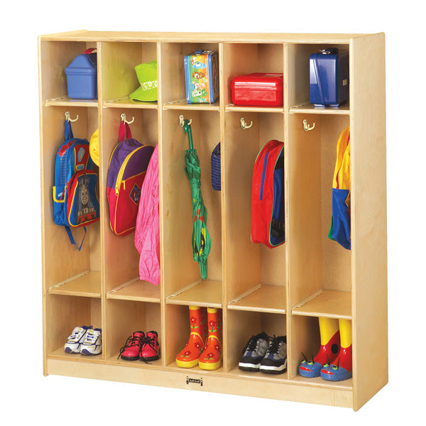 Jonti-Craft 2681JC Five Section Coat Locker