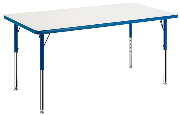 Allied M62460 Common Core Aligned Rectangle MarkerBoard Table 24 x 60