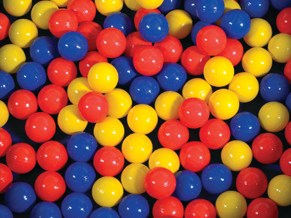 Children's Factory CF331-533 Mixed Color Ball Pool Balls - 500 Pack