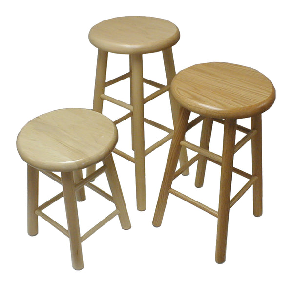 "Hann S-30 Hardwood Multi-Purpose Stool 30"" Seat Height"