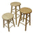 "Hann S-24 Hardwood Multi-Purpose Stool 24"" Seat Height"