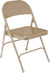 National Public Seating 50 Series Steel Folding Chair - Pack of 4