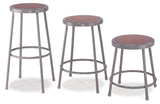 National Public Seating 6200 Series Round Hardboard Science Lab Stool Fixed Height