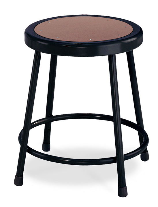 National Public Seating 6218-10 Series Round Hardboard Science Lab Stool Fixed Height