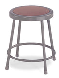 National Public Seating 6218 Series Round Hardboard Science Lab Stool Fixed Height