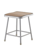 National Public Seating 6318 Series Square Hardboard Science Lab Stool Fixed Height