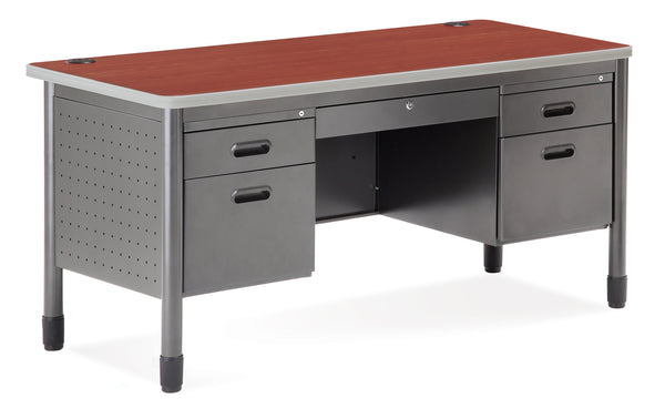 OFM 66360 Mesa Series 5 Drawer Desk with Laminate Top 30 x 60