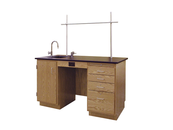 Hann SD-305R Instructor's Demonstration Station with Epoxy Resin Top 30 x 60