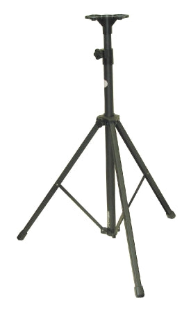 "PRA-TRD Black, aluminum tripod for the OS PRA-6000 and PRA-7000 PA systems.  Height extends from 43"" to 95""."