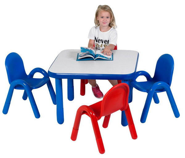 Angeles AB74112 Baseline Toddler Square Table and 4 Chair Set