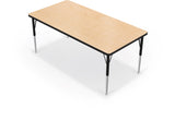 Balt 90527-J Adjustable Height Rectangle Activity Table 48 x 60