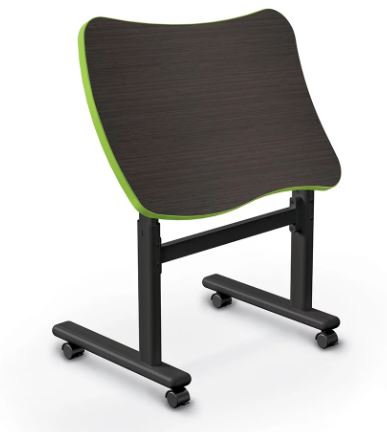 Balt 91186-B Height Adjustable Flipper Desk - Beluga