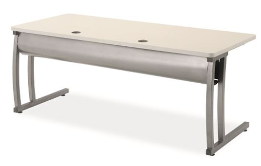 Alumni FCT-3072-HPL-PC-FX Fixed Height Flex Connect Technology Table 30 x 72