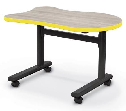 Balt 91186-A Height Adjustable Flipper Desk - Fender