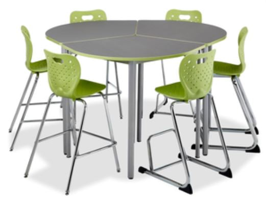 Alumni T-INTERAC-3550-FX42 Cafe Height Interactive Table