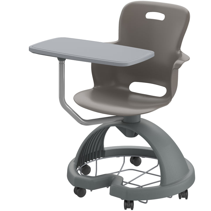 Haskell 2ES1C1 Ethos Mobile Quad Chair with Storage Base and Tablet