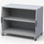 Haskell CUB01 Explorer Series Cubby Storage Cart with Two Fixed Shelves