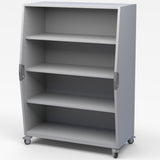 Haskell TS01 Explorer Series Tall Storage with One Fixed and Two Adjustable Shelves