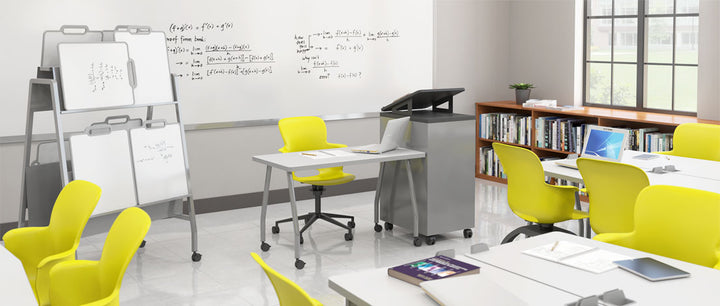 Haskell ES1C0 Ethos Quad Chair with Storage Base and Casters