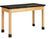 Diversified P7102K30N Plain Apron Science Table with ChemGuard Top 24 x 48